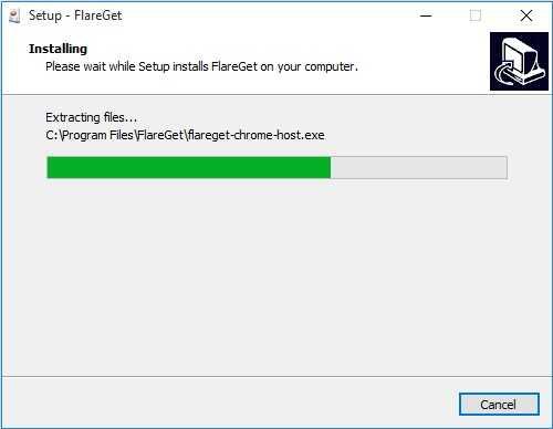 شرح تنصيب فليرجيت Flareget للكمبيوتر (10)