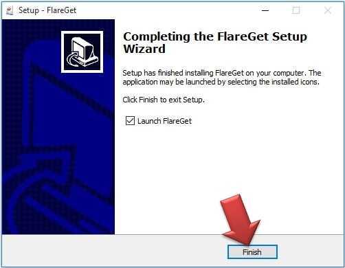 شرح تنصيب فليرجيت Flareget للكمبيوتر (11)