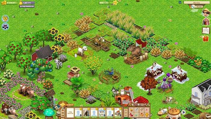 تحميل لعبه المزرعه السعيده Download Happy Farm