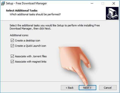 تحميل برنامج فري داونلود مانجر Download Free Download Manager