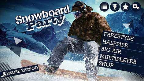تحميل لعبه التزحلق على الجليد مجانا Download Snowboard Party 2 Game