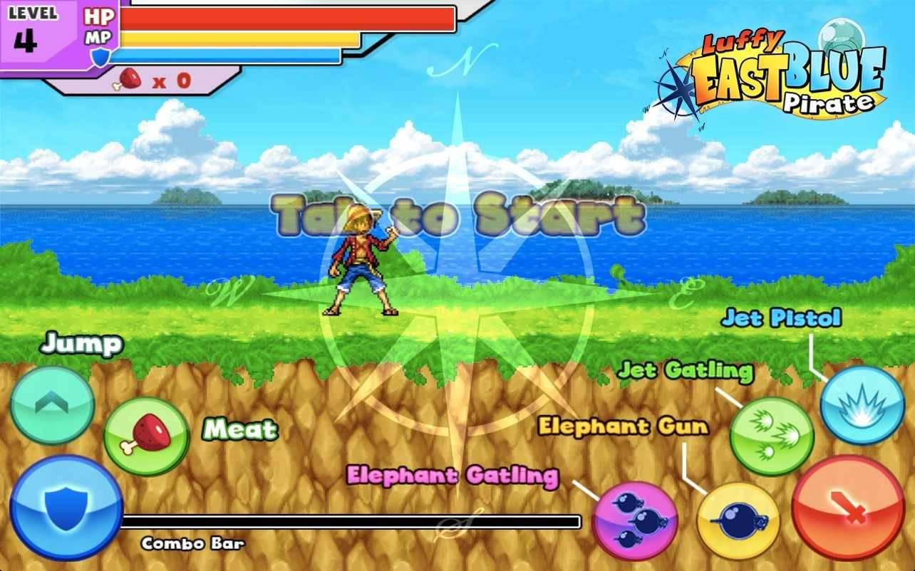 تحميل لعبة لوفى ون بيس مجانا Download One Piece games