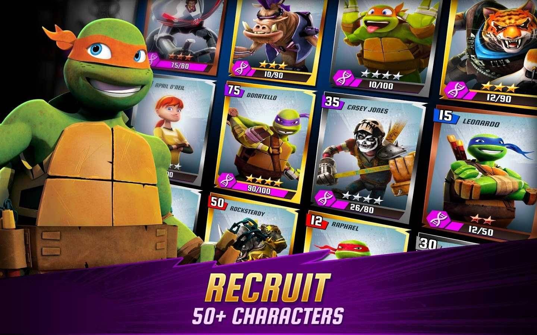 تحميل لعبة سلاحف النينجا للاندرويد والايفون download ninja turtles apk , ios