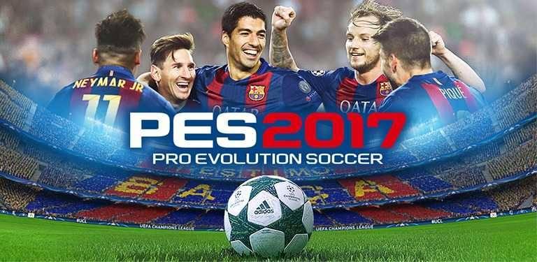 تحميل لعبة بيس 2017 للاندرويد والايفون download pes 2017 apk , ios
