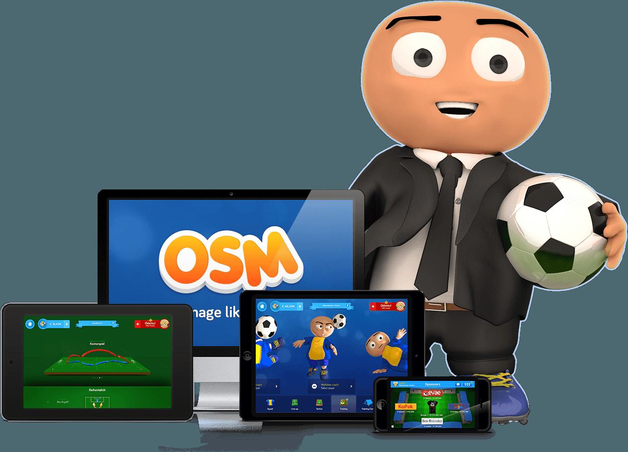 تحميل لعبة المدرب الافضل download osm