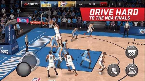 تحميل لعبة NBA LIVE Mobile Basketball
