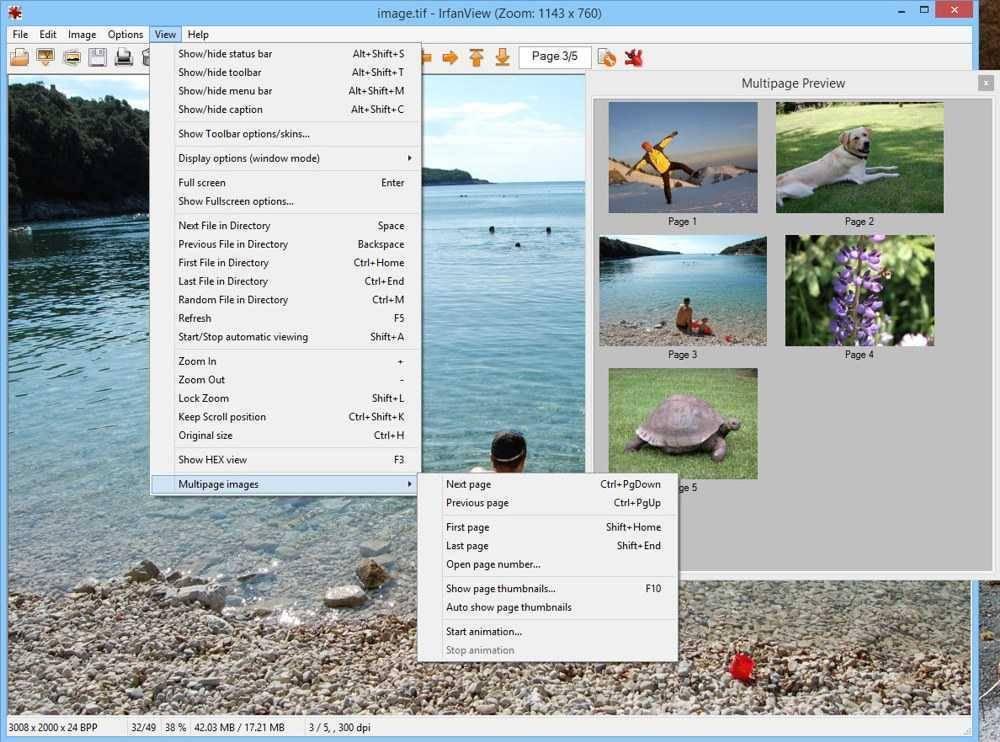 تحميل برنامج تحرير وعرض الصور IrfanView للكمبيوتر مجانا برابط مباشر