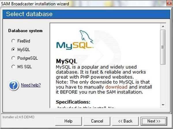 تحميل برنامج عمل قواعد البيانات والتعديل عليها Firebird للكمبيوتر
