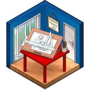 تحميل برنامج تصميم المنازل ثلاثى الابعاد Sweet Home 3D للكمبيوتر