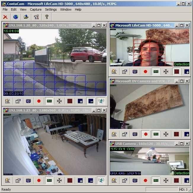 تحميل برنامج نظام المراقبة المتكامل ContaCam للكمبيوتر