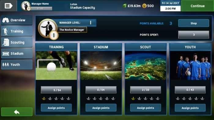 تحميل لعبة سكور مانجر 2018 – Soccer Manager 2018 للأندرويد مجانا