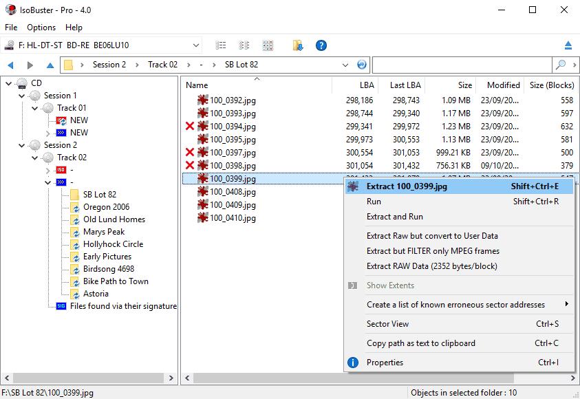 تحميل برنامج IsoBuster لإسترجاع الملفات المحذوفة من الاسطوانات والهارد