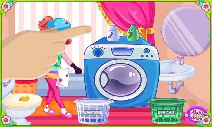 تحميل لعبة غسيل الملابس للبنات للاندوريد