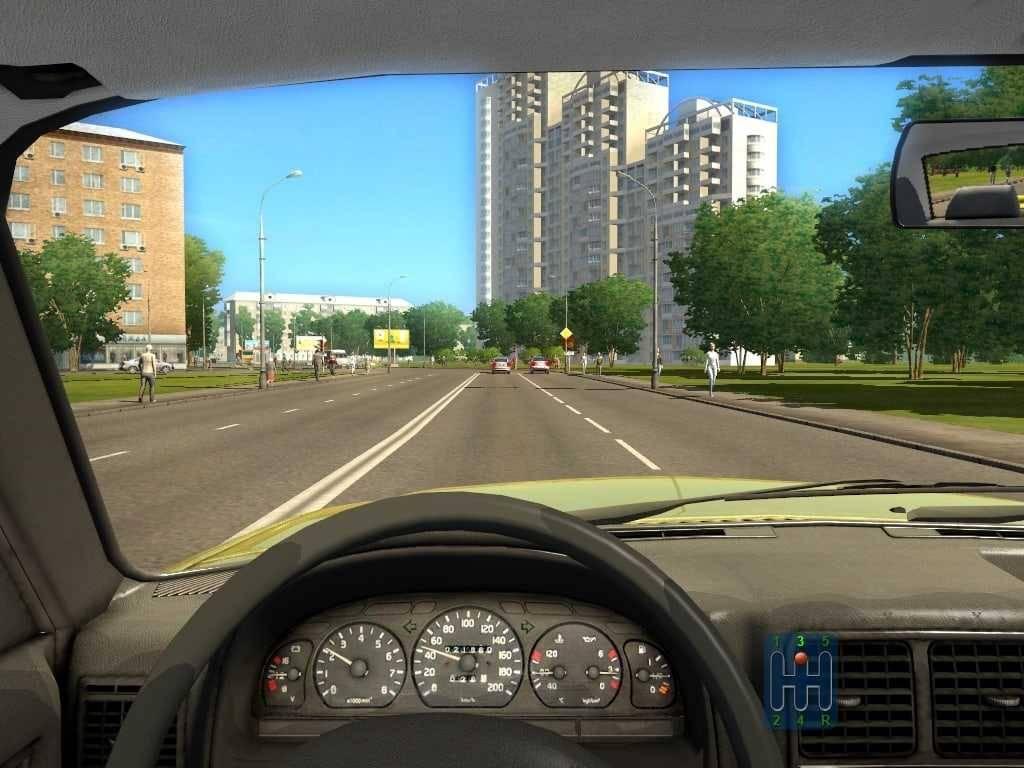 تحميل لعبه القياده في المدينه city car driving للكمبيوتر