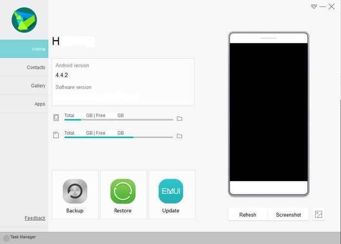 تحميل برنامج اداره هواتف هواوى HiSuite للكمبيوتر مجانا برابط مباشر