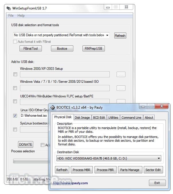 تحميل برنامج حرق أكثر من نسخة على الفلاشة أو القرص الثابت