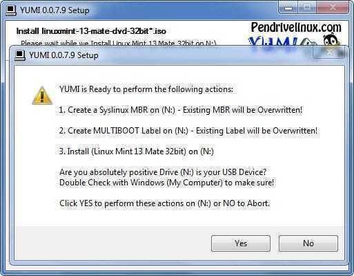 تحميل برنامج إنشاء فلاشة بوت لأنظمة التشغيل المختلفة YUMI للكمبيوتر