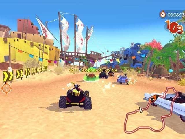 تحميل لعبه الاكشن والسباق Racers Islands للكمبيوتر