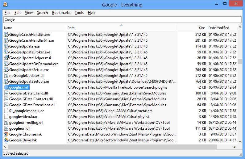 تحميل برنامج أداة البحث السريع عن الملفات Everything للكمبيوتر مجانا