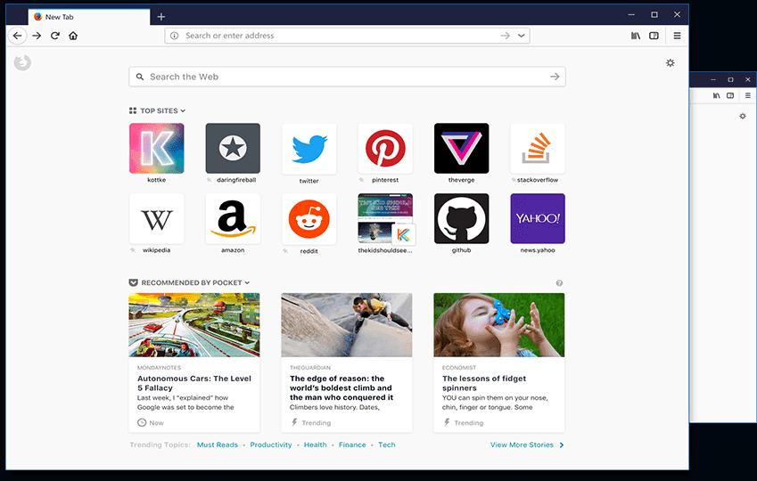 تحميل متصفح Firefox Quantum