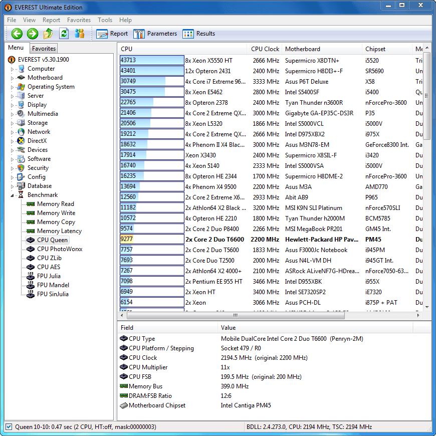 تحميل برنامج معرفة قطع جهاز الكمبيوتر EVEREST Ultimate Edition