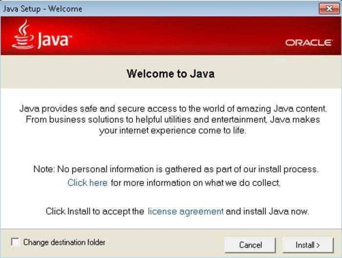 runtime java