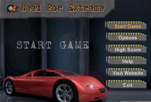 تحميل لعبة السيارات الخفيفة Need For Extreme للكمبيوتر برابط مباشر