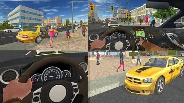 تنزيل لعبة سيارة أجرة 2 Taxi Game للاندرويد