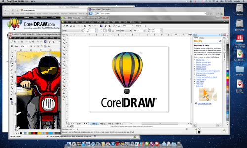 30ea6e26b تحميل برنامج Corel Draw لإعداد التصميمات والرسومات للكمبيوتر - دايركت أب