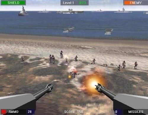 تنزيل لعبة حرب الشاطئ beach head للكمبيوتر ديمو
