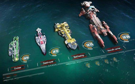 تحميل لعبة الحرب البحرية Battle Warship:Naval Empire للأندرويد