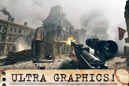 تحميل لعبة الحرب World War Heroes Ww2 Fps للأندرويد برابط مباشر