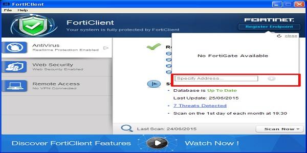 تحميل برنامج FortiClient 2019 للحماية الشاملة من الفيروسات وملفات