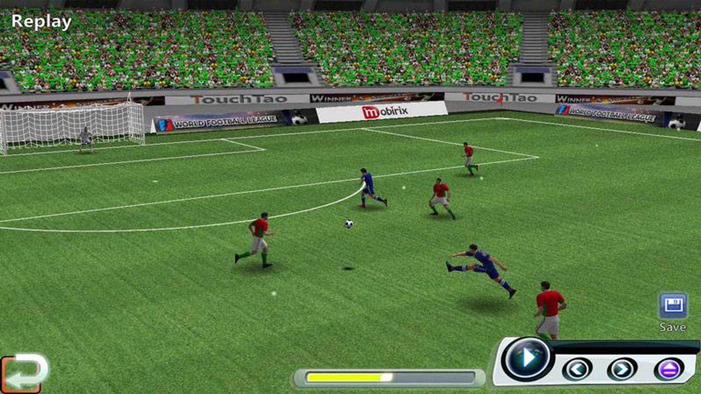 تحميل لعبة world football