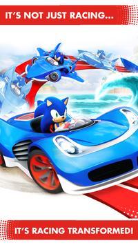 تحميل لعبة sonic racing transformed للاندرويد