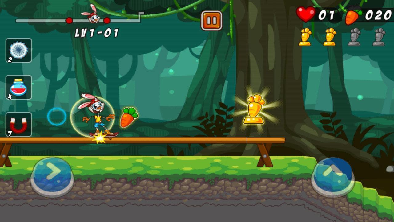 تحميل لعبة Bunny Skater APK للأندرويد screen-2-min-1568996
