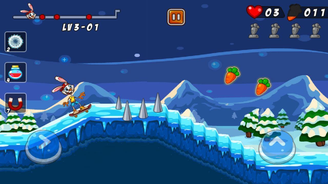تحميل لعبة Bunny Skater APK للأندرويد screen-3-min-1568996