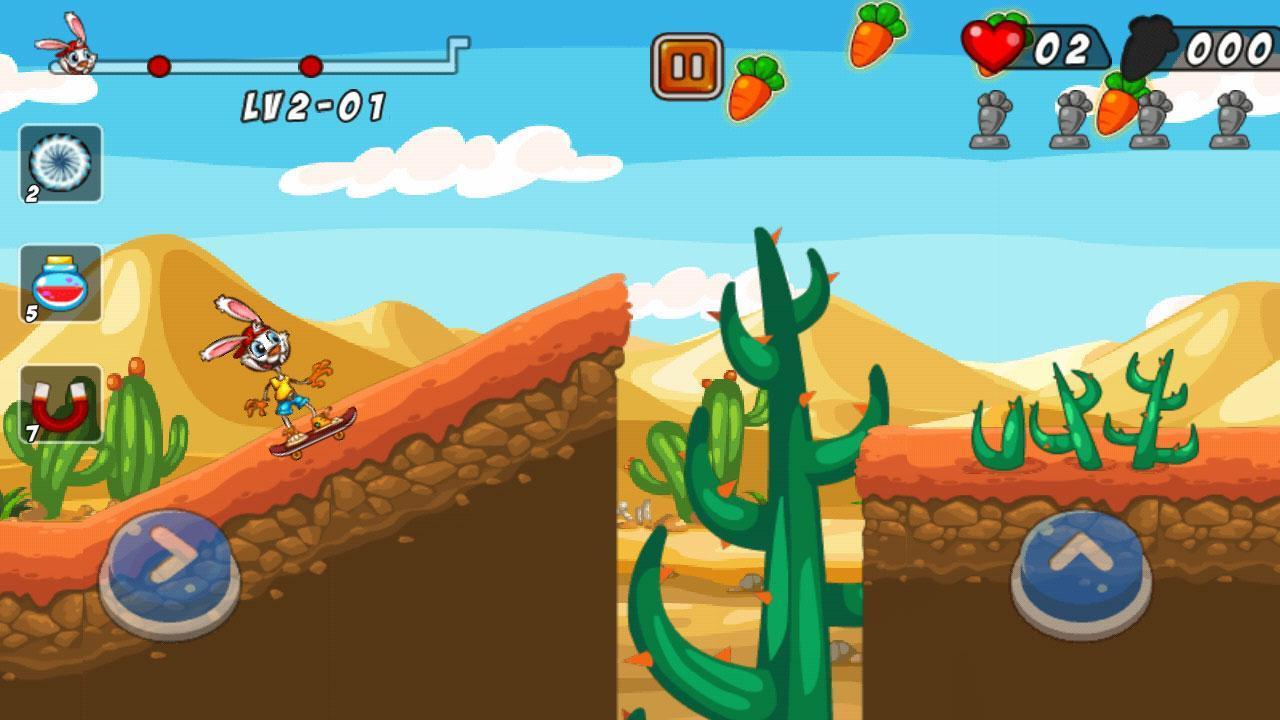 تحميل لعبة Bunny Skater APK للأندرويد screen-4-min-1568996