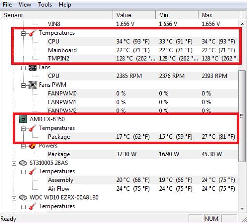 تحميل برنامج HWMonitor لقياس جهد وحرارة الكمبيوتر برابط مباشر - دايركت أب