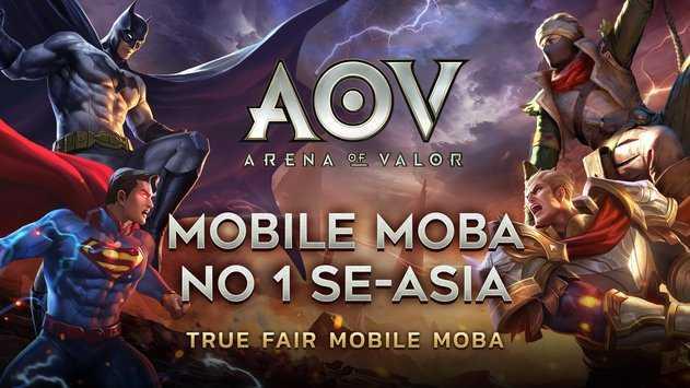 تنزيل Garena AOV – Arena of Valor: Action MOBA APK للاندرويد